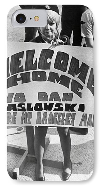 Pows Arrive Home IPhone Case