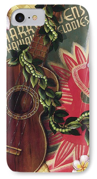 Practice My Uke Phone Case by Sandra Blazel - Printscapes