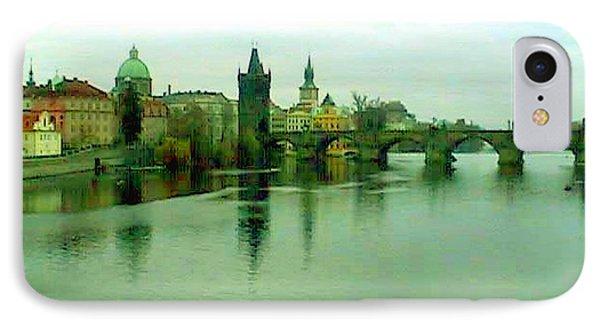 Prague  1 Jgibney 2000 City Bridge 2010 Phone Case by  jGibney