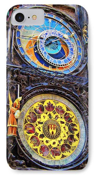Prague Astronomical Clock IPhone Case by Andreas Thust