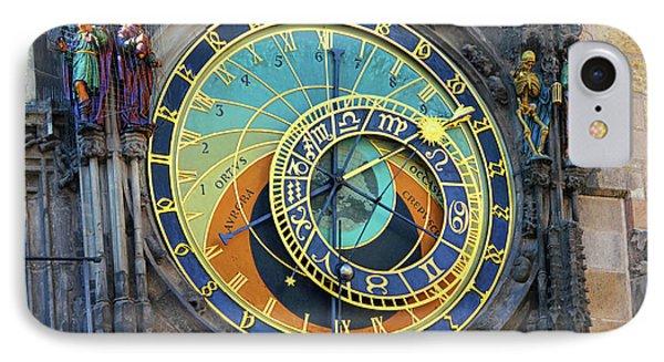 Prague Astronomical Clock Phone Case by Mariola Bitner