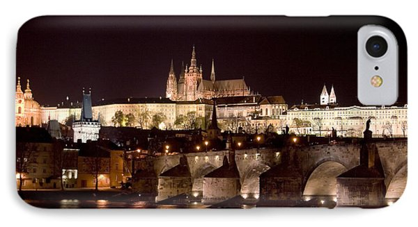 Prague Castle IPhone Case by Shawn Everhart