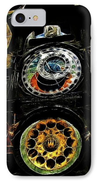 Prague Clock Phone Case by Joan  Minchak