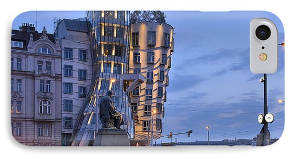 IPhone Case featuring the photograph Prague Dancing House by Marek Stepan
