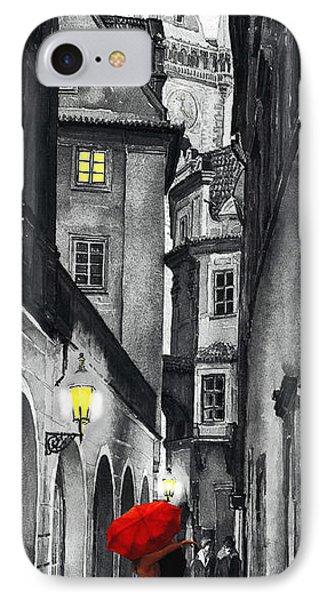 Prague Love Story Phone Case by Yuriy  Shevchuk