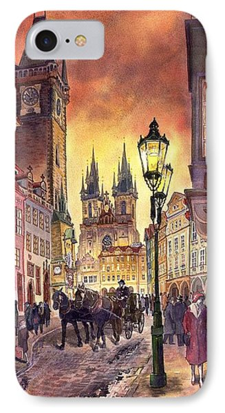 Prague Old Town Squere Phone Case by Yuriy  Shevchuk