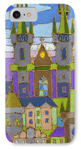 Prague Panorama IPhone Case by Yuriy  Shevchuk