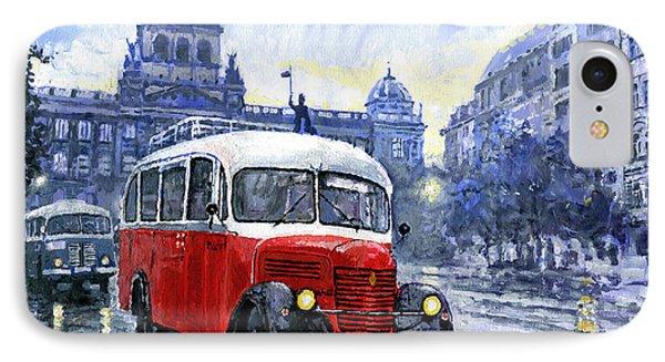 Praha Rnd Bus 1950 Skoda 706 Ro Phone Case by Yuriy Shevchuk