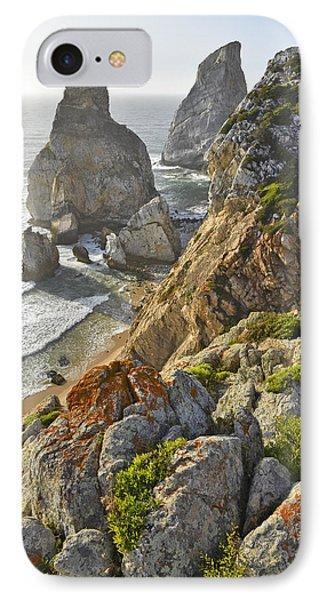 IPhone Case featuring the photograph Praia Da Ursa  by Marek Stepan