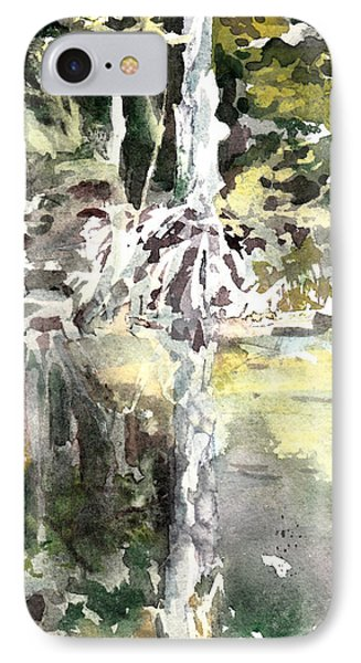 Praire Oaks IPhone Case by Mindy Newman