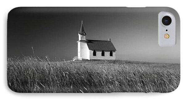 Prairie Chapel IPhone Case by Todd Klassy