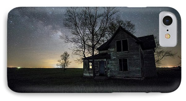 Prairie Gold And Milky Way IPhone Case by Aaron J Groen