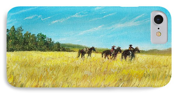 Prairie Journey IPhone Case by Kathleen McDermott