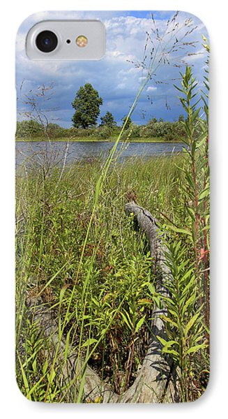 IPhone Case featuring the photograph Prairie Meets Wetland by Scott Kingery