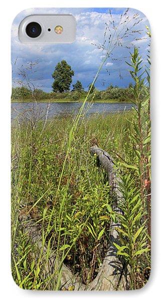 Prairie Meets Wetland IPhone Case by Scott Kingery