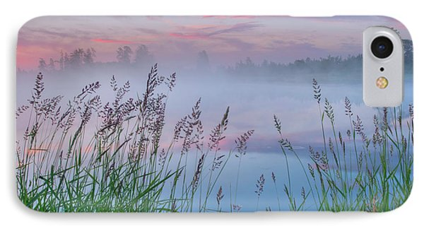 IPhone Case featuring the photograph Prairie Pond Before Sunrise by Dan Jurak