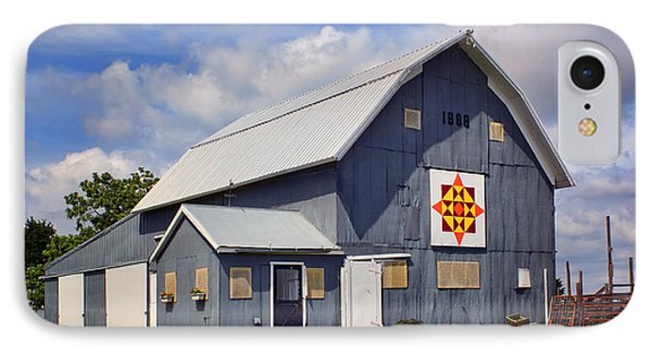 Prairie Sunrise - Quilt Barn - Nebraska IPhone Case