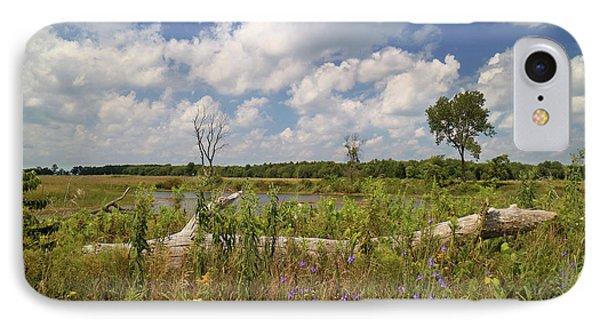 Prairie Wetland IPhone Case by Scott Kingery