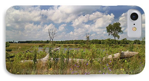 IPhone Case featuring the photograph Prairie Wetland by Scott Kingery