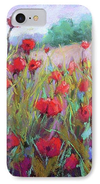 Praising Poppies Phone Case by Susan Jenkins