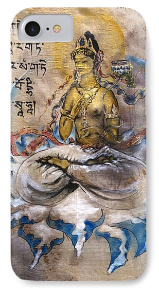 Prajnaparamita  IPhone Case by Silk Alchemy