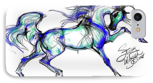 Prancing Arabian Horse IPhone Case