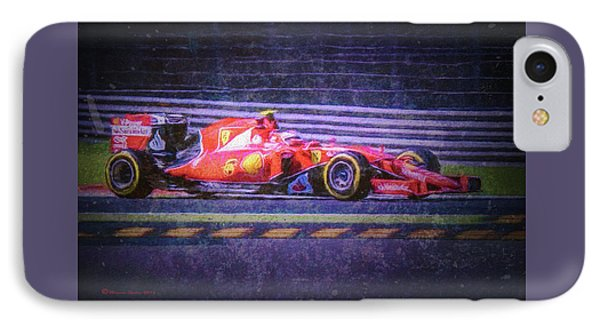 Prancing Horse Vettel IPhone Case by Marvin Spates