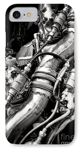 Pratt And Whitney Engine IPhone Case by Olivier Le Queinec