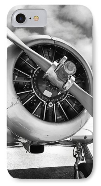 Pratt And Whitney R1340 Wasp Radial Engine IPhone Case by Chris Smith