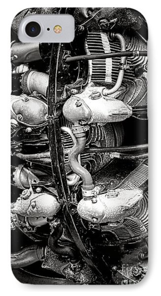 Pratt And Whitney Twin Wasp IPhone Case by Olivier Le Queinec