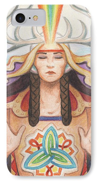 Pray For Unity Dream Of Peace Phone Case by Amy S Turner