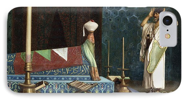 Prayer At The Sultan's Room  The Grief Of Akubar  IPhone Case