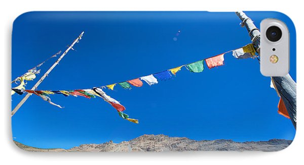 IPhone Case featuring the photograph Prayer Flag by Yew Kwang