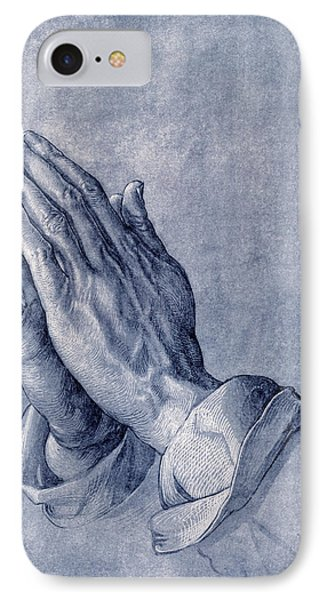 Praying Hands, Art By Durer Phone Case by Sheila Terry