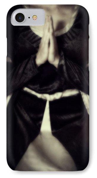 Praying IPhone Case by Joana Kruse