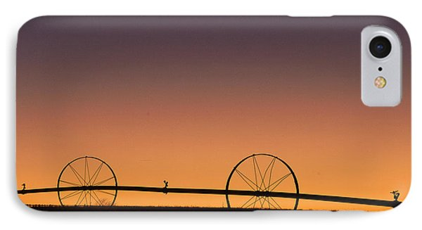 Pre-dawn Orange Sky IPhone Case by Monte Stevens