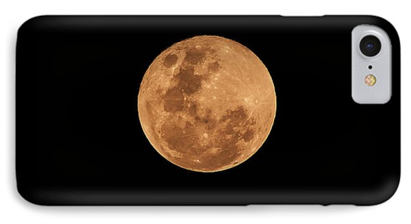 Post-penumbral Moon Phone Case by Venura Herath