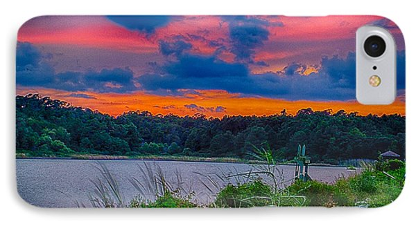 IPhone Case featuring the photograph Pre-sunset At Hbsp by Bill Barber