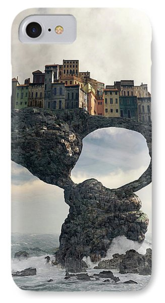 Precarious IPhone Case by Cynthia Decker