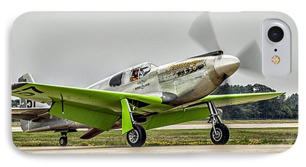 Precious Metal Final Flight IPhone Case by Alan Toepfer