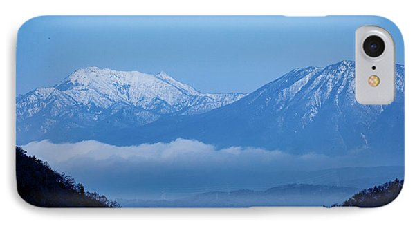 IPhone Case featuring the photograph Predawn Peaks by Rikk Flohr