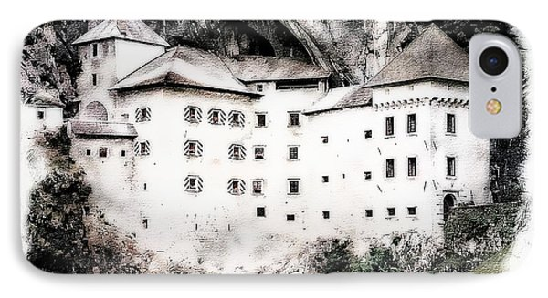 IPhone Case featuring the photograph Predjama Castle by Joseph Hendrix