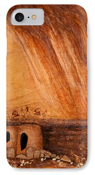 Prehistoric Rock Art IPhone Case