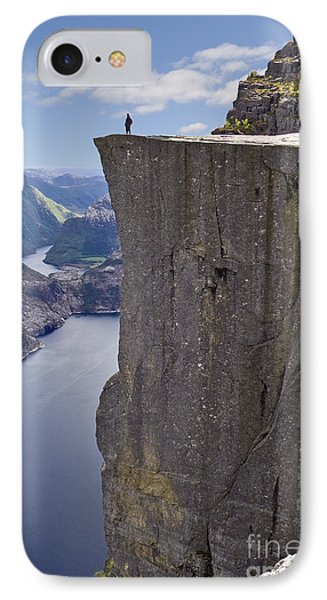 Preikestolen IPhone Case by Heiko Koehrer-Wagner