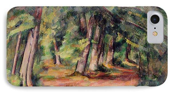 Pres Du Jas De Bouffan IPhone Case by Paul Cezanne