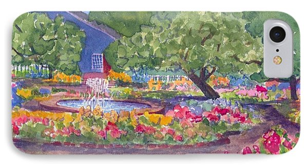 Prescott Park Portsmouth Nh  IPhone Case by Roseann Meserve
