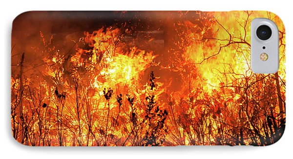 IPhone Case featuring the photograph Prescribed Burn by Arthur Dodd