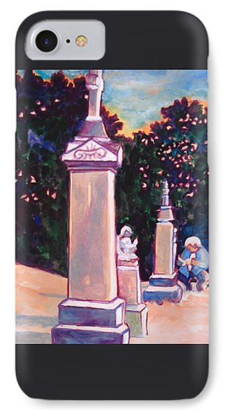 Present Meets Past Phone Case by Kathy Braud