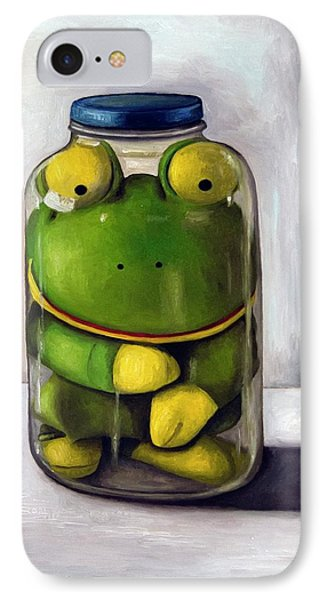 Preserving Childhood IPhone Case by Leah Saulnier The Painting Maniac