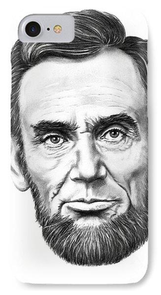 President Abe Lincoln Phone Case by Murphy Elliott